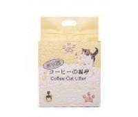 HAKASE AREKKUSU Наполнитель Тофу пресовованые соевые гранулы Кофе 6л