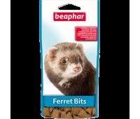 Beaphar Ferret Bits 35г витамины подушечки для выведения шерсти