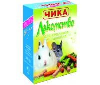 Лакомство ЧИКА для кроликов и шиншилл 80г