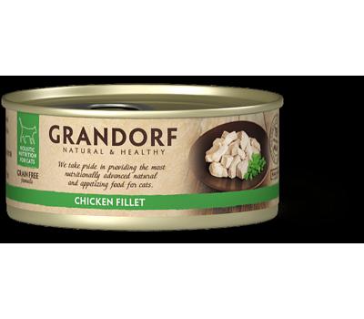 Купить Grandorf Cat (Грандорф консервы для кошек - куриная грудка) 70г