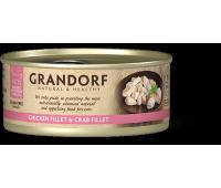 Grandorf Cat - куриная грудка и крабовое филе 70г