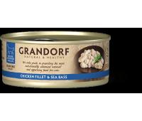 Grandorf Cat - куриная грудка и морской окунь 70г