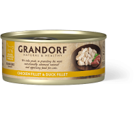 Grandorf Cat - куриная грудка и филе утки 70г