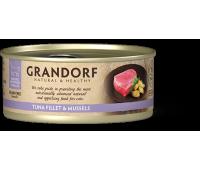 Grandorf Cat - филе тунца и мидии 70г