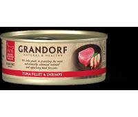 Grandorf Cat - филе тунца и креветки 70г