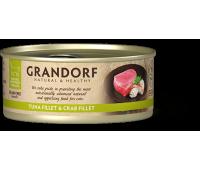 Grandorf Cat - филе тунца и филе краба 70г