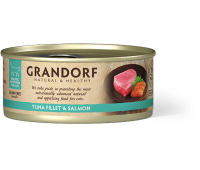Grandorf Cat - филе тунца и лосось 70г
