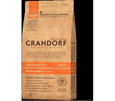 Купить корм Grandorf Sensitive Care Holistic Lamb & Brown Rice Junior (ягненок с бурым рисом для собак юниоров с 4 месяцев) 12кг