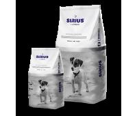 Sirius (Сириус Платинум сухой корм для собак малых пород индейка с овощами) 3кг Акция