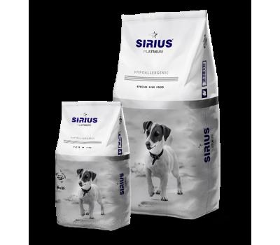 Sirius (Сириус Платинум сухой корм для собак малых пород индейка с овощами) 3кг