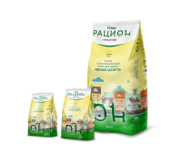 НАШ РАЦИОН (сухой корм для кошек мясное ассорти) 0.4кг, 1.5кг, 10кг