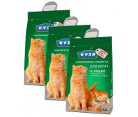 Наполнитель Кузя Минеральный - для котят и кошек (4,5л)