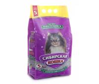 Наполнитель Сибирская Кошка - Экстра Комкующийся (5л, 10кг)