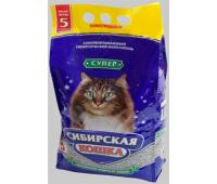 Наполнитель Сибирская Кошка - Супер Комкующийся (10кг, 20кг)