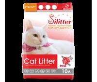 Наполнитель Silitter - комкующийся с ароматом розы (5л)
