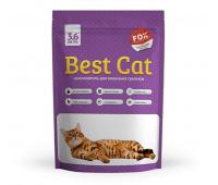 Наполнитель Best Cat Силикогелевый с ароматом лаванды (3.6л, 10л)