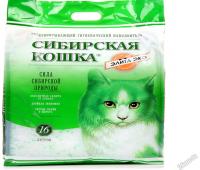 Наполнитель Сибирская кошка Элита Эко Силикагелевый - для привередливых кошек (16л)