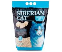 Наполнитель Сибирская кошка Тофу Оригинальный - биоразлагаемый комкующийся (6л)