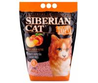 Наполнитель Сибирская кошка Тофу Персик - биоразлагаемый комкующийся (6л)