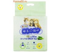 НаполнительТофу HAKASE AREKKUSU Зеленый Чай (6л)