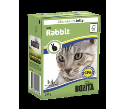 Купить Bozita консервы - кусочки кролика в желе для кошек (370г)