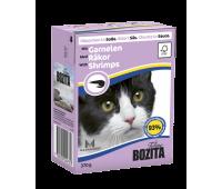 Bozita консервы - кусочки креветки для кошек (370г)