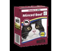 Bozita консервы - кусочки говядины для кошек (370г)