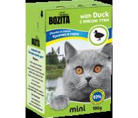 Bozita консервы - кусочки мяса утки для кошек (190г)