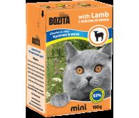 Bozita консервы - кусочки ягненка для кошек (190г)
