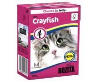 Bozita консервы - кусочки лангуста в желе для кошек (370г)