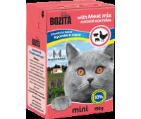Bozita консервы - мясной коктейль для кошек (190г)