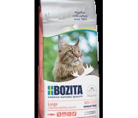 BOZITA WF Hair & Skin SALMON Large - с лососем без пшеницы для кошек крупных пород (400г)