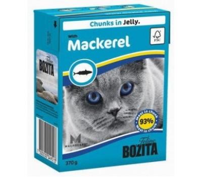 Купить BOZITA консервы - скумбрия в желе для кошек (370г)