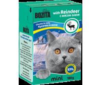 Bozita консервы - кусочки мяса оленя для кошек (190г)