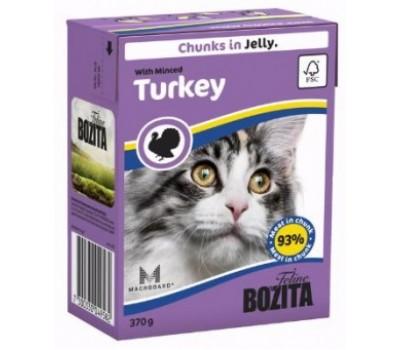 Купить Bozita консервы - кусочки индейки для кошек (370г)