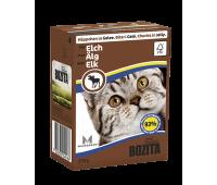 Bozita консервы - кусочки мяса лося для кошек (370г)