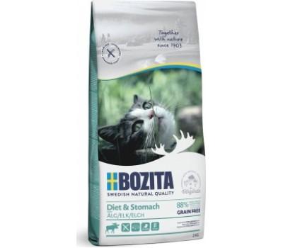 Купить корм BOZITA GF Sensitive Diet & Stomach - беззерновой для кошек с чувствительным пищеварением (2кг)