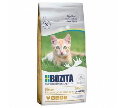 Купить корм BOZITA GF KITTEN Chicken - с курицей беззерновой для котят (2кг)