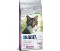 BOZITA WF Hair & Skin SALMON - с лососем без пшеницы для кошек (2кг)