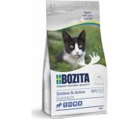 BOZITA Outdoor & Active - с мясом лося для растущих и активных кошек (400г)