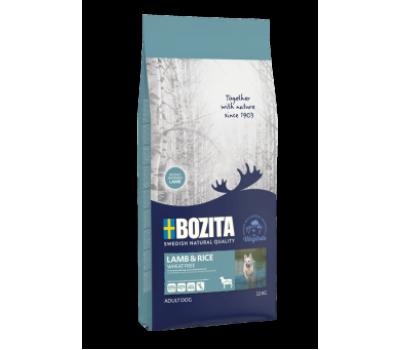 Купить корм BOZITA Naturals Wheat Free - для собак с ягненком и рисом (3.5кг)