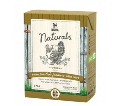 Купить корм Bozita Naturals консервы - кусочки индейки в желе для собак (370г)