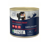 Bozita консервы - паштет из говядины для собак (625г)