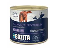 Bozita консервы - паштет из индейки для собак (625г)