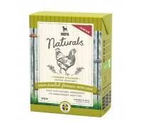 Bozita Naturals консервы - кусочки курицы в желе для щенков (370г)