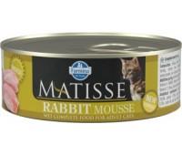 Farmina MATISSE - мусс из кролика для кошек 85г