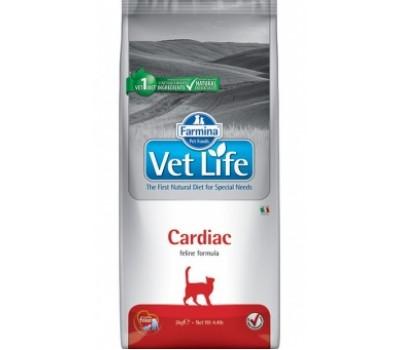 Купить корм Farmina VetLife Cardiac - для кошек при заболеваниях сердца (400г)