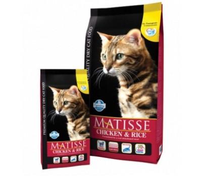 Купить корм Farmina MATISSE Chicken&Rice - с курицей и рисом для кошек (400г)