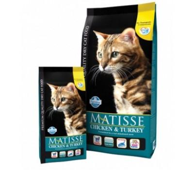 Купить корм Farmina MATISSE Сhicken&Turkey - с курицей и индейкой для кошек (400г)