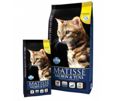 Купить корм Farmina MATISSE Salmon&Tuna - с лососем и тунцом для кошек (1.5кг)
